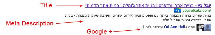 תוצאות בחיפוש גוגל