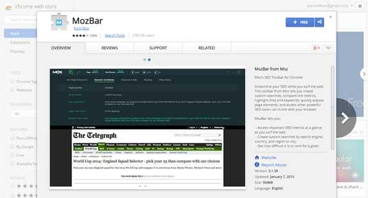 MozBar---Chrome-Web-Store